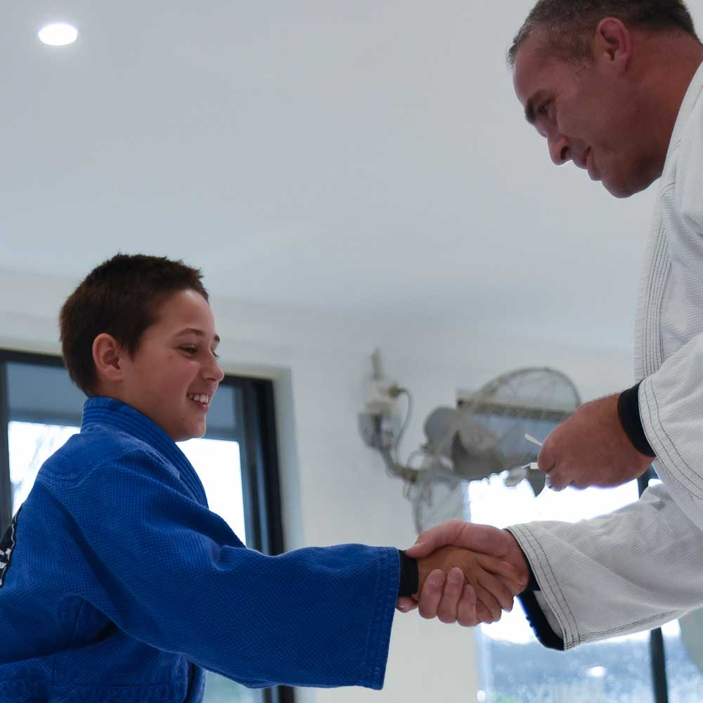 Southern Highlands Martial Arts - kids jiu jitsu graduation