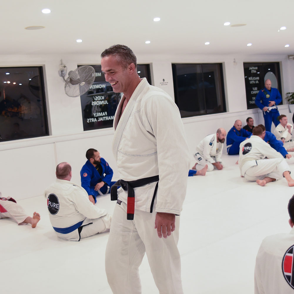 Tony Pycroft Pure Jiu Jitsu Southern Highlands